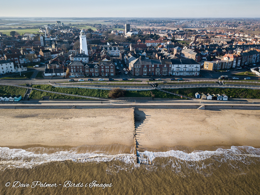 The seafront at Southwold in Suffolk